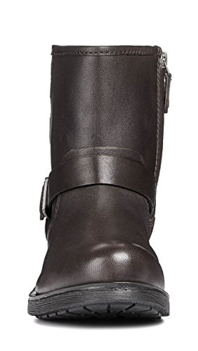 Glattleder D846RC Reißverschluss Sportive Damen Rawelle System Geox Boots AfcCXq1Cw