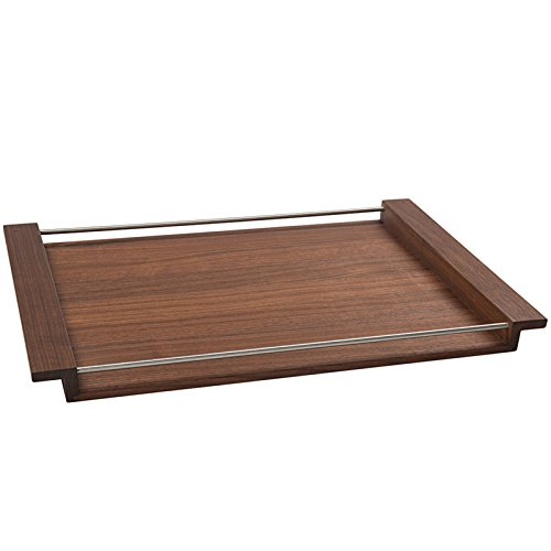 Design Tray NH-M Walnut Tree 65,5x43 Serving Tray Wood Wooden Tray