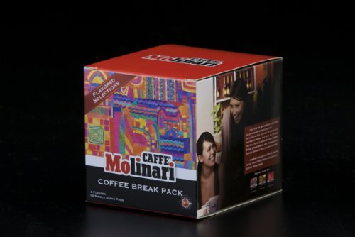 Itespresso Coffee Break Pack,80 Count Capsules,Classico/Deca/Arabica 100% compatible Nespresso Machines