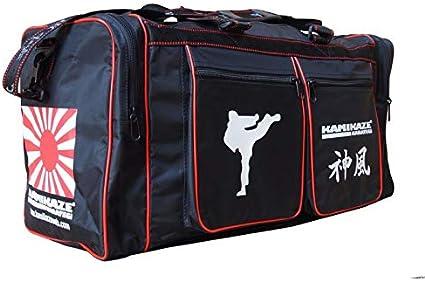Kamikaze Sac Karate Noir Deux Tailles au Choix Noir Noir