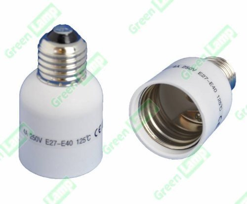 E27 to E40 Lamp Light Bulb Socket Base Adapter Converter Edison screw large