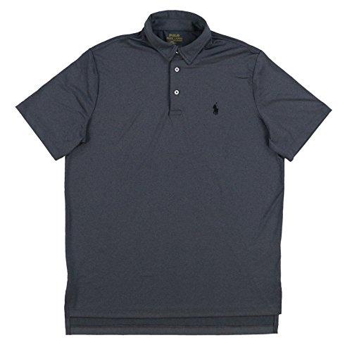 Polo Ralph Lauren Mens Performance Polo Shirt (Medium, Grey Heather) (Polo Ral)