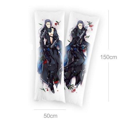"Raspberry Link(Tm) Japan Anime Shingeki No Kyojin Attack On Titan Mikasa Ackerman Hugging Pillow Dakimakura Cover Double-Sided 59.06""X19.69"""