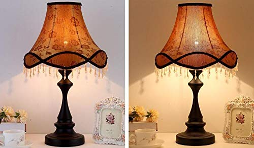 Best to Buy Table Lamp,European Style Bedside Lamp Princess Pastoral Creative Wedding Luxury Restaurant Decoration Table Lamp (Luxurious Style) by Best to Buy (Image #2)