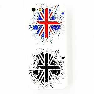 JJE Punk Ancient The United Kingdom National Flag Pattern Plastic Hard Case for iPhone 4/4S , Multicolor