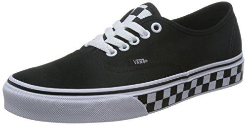 Vans Herren Authentic Core Classic Sneakers Black / True White