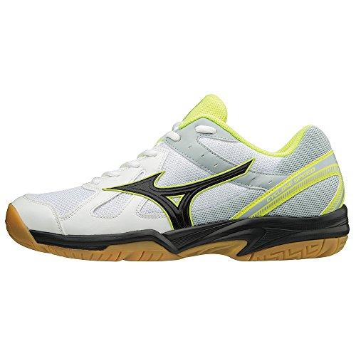 white Homme Cyclone black safetyyellow Basses Sneakers Speed Mizuno 001 Multicolore IwSFYwx