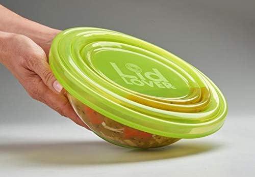 LidLover - Comida de silicona para ensalada, 2 unidades, 7 ...
