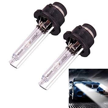Uniqus 2 PCS D4S 35W 3800 LM 4300K HID Bulbs Xenon Lights Lamps, DC 12V(White Light)