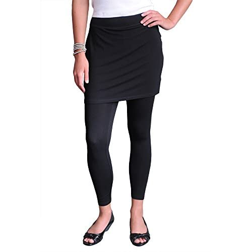 Nice Eileen Fisher Skirted Ankle Legging in Viscose Jersey for sale