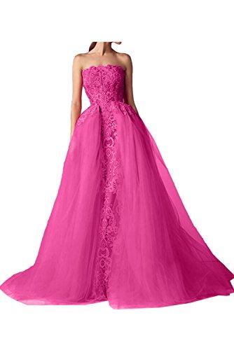 Ivydressing - Vestido - trapecio - para mujer rosa 46