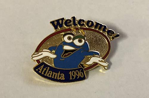 1996 Atlanta Olympics Izzy Welcome! Pin