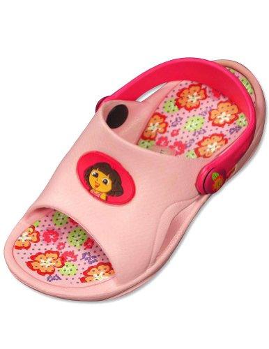 Dora the Explorer by Nickelodeon -Toddler Girls Dora Sandal, Pink 30384-M7-8