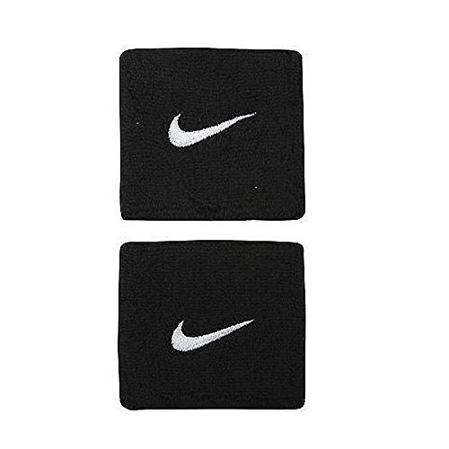 Atyourdoor Men's Cotton Supporter Sweat Sports Wrist Band (Black, Free Size) - 1 Pair