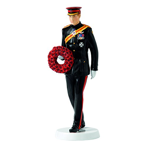 (Royal Doulton Remembering Our Fallen Heroes HN 5893 HRH Prince Harry of Wales Figurine)