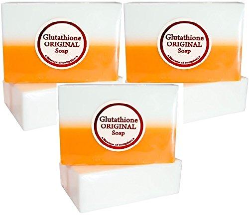 Kojic Acid & Glutathione Dual Whitening/bleaching Soap (3 Soaps)