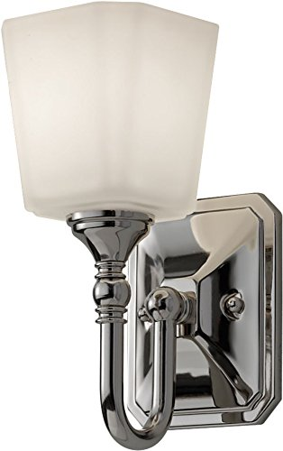 - Feiss VS19701-PN Transitional One Light Vanity Strip from Concord Collection in Polished Nickel Finish, 1