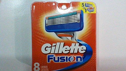 Price comparison product image 8 Gillette Fusion Razor Blades NEW CARTRIDGE PACK 100% AUTHENTIC,GENUINE PRO NIB