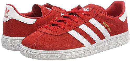 Munchen Adidas Hommes Mtallis Baskets Or Chaussures Blanc scarlet 0 Rouge Pour ASp7wqp1