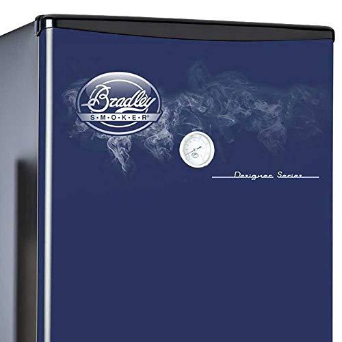 Bradley Technologies Designer Series 4 Rack Original Smoker Stove, Blue