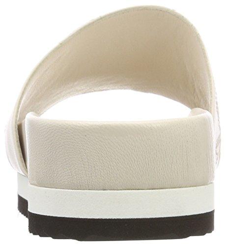 Strenesse Donne Ada Embroide Muli Bianco (bianco Sporco)