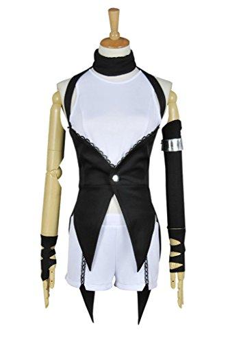 [CosplayNow RWBY Blake Belladonna Cosplay Costume Combat Uniform Black S] (Blake Rwby Costume)