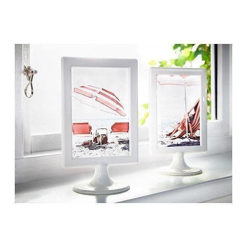 Ikea Photo Frames White Tolsby 4 X 6