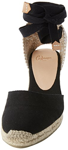 Espadrilles Castañer Femme 100 Black Noir Carina6001 wAHx5qAU