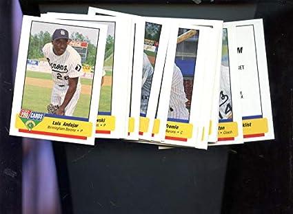 7de1c6581e1 Image Unavailable. Image not available for. Color  1994 Fleer Pro Cards Birmingham  Barons Complete Set Michael Jordan Baseball