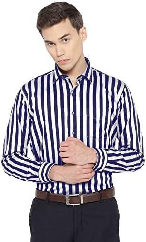 PARIDHAAN Full Sleeve Slim Fit Plain Formal Shirt for Men,100% Cotton Shirts,Office wear,Formal Shirt