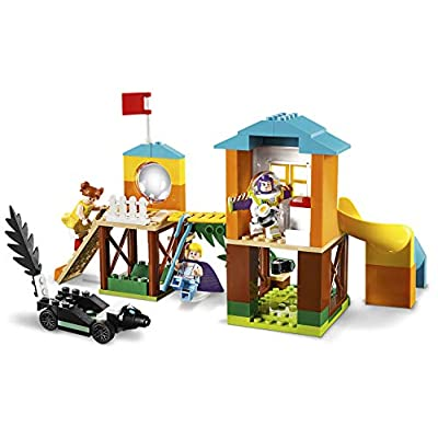 LEGO 10768 4+ Toy Story 4 Buzz and Bo Peep's Playground Adventure with Buzz Lightyear, Bo Peep and Gabby Gabby Minifigures: Toys & Games