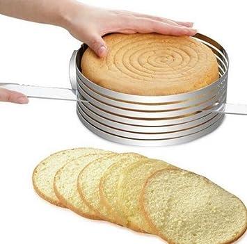 Nutzliche 15 2 20 3 Cm Durchmesser Edelstahl Kuchen Form Verstellbar