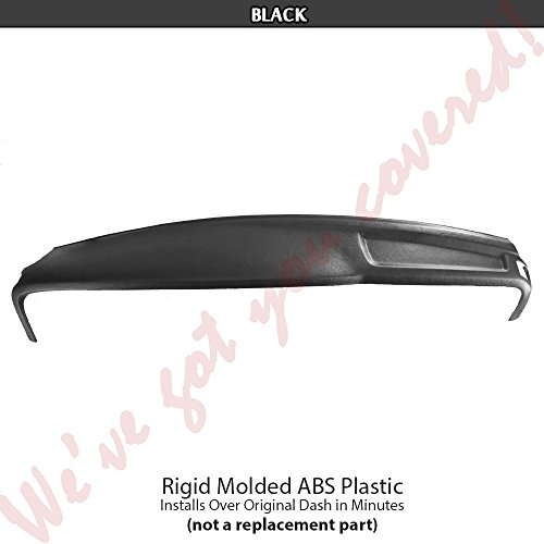 (DashSkin Molded Main Dash Cover Compatible with 02-05 Dodge Ram in Black)