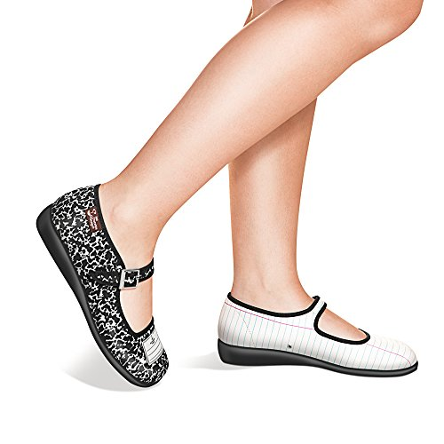 cheap for nice Hot Chocolate Design Chocolaticas Notebook Women's Mary Jane Flat Multicoloured free shipping amazon browse under $60 cheap online htcLmQL