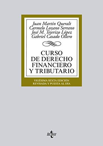 Descargar Libro Curso De Derecho Financiero Y Tributario Juan Martín Queralt