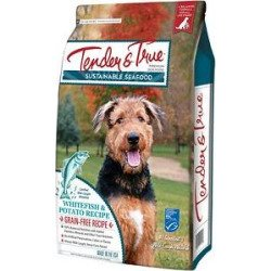 Tender & True 854027 Sustainable Seafood Ocean Whitefish & Potato Recipe 23 lb Bag Dry Dog Food, One Size