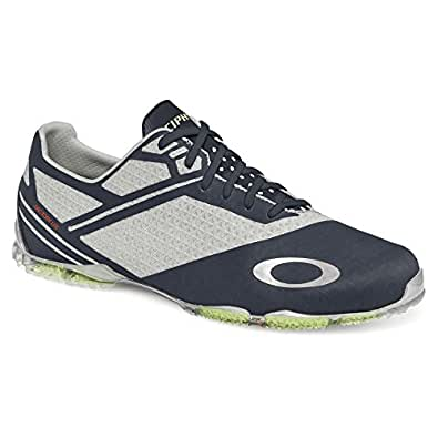 Oakley Men's Cipher 4 Golf Shoe, Grey/Black, 7 M US