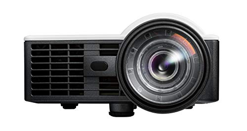 Optoma ML1050ST+ Palm-Sized 1000 Lumen WXGA Short Throw Pocket LED Projector with Auto Focus