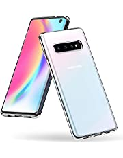 Syncwire Samsung Galaxy S10 Case, UltraFlex Thin Slim Galaxy S10 Phone Case with Soft TPU [Anti-Yellow] [Drop Protection] Gel Clear Bumper Case Protective Cover for Samsung Galaxy S10 - Transparent