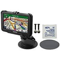 NEW RUGGED ADHESIVE DASHBOARD CAR SUV MOUNT HOLDER FOR GPS GARMIN NUVI 40 & 40LM