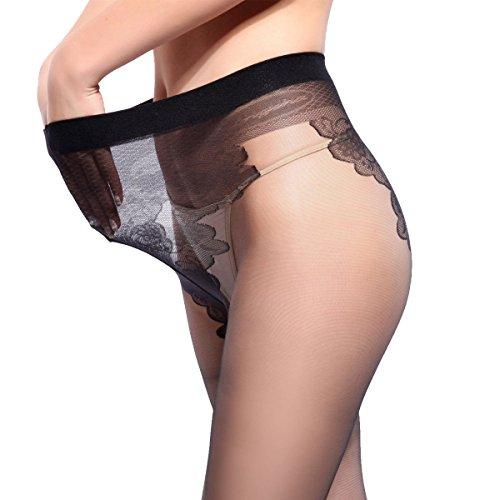 Calze Temperamento C Big Pantaloni Yards gancio Nessuna Slim Senza Righe Inferiori Black Traccia A Di Bikini Anti Rfqf65w