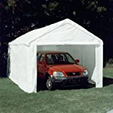 Online Gym Shops CB15177 King Canopy 10 x 20 Hercules Enclosed Canopy Carport