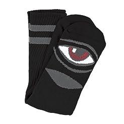 Toy Machine Sect Eye III Crew Socks [Bla...