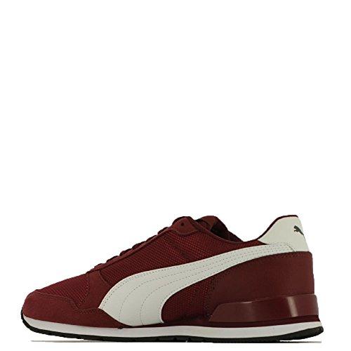 discount best online shop from china Puma Scarpe Uomo Sneakers ST Runner In Tela Blu 366811-03 Cordovan-puma White qazJJ9a