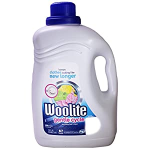 Woolite Laundry Detergent Gentle Cycle, Sparkling Falls Scent, 133 Ounce