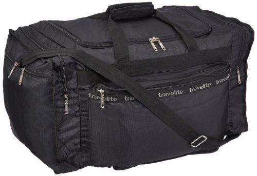 Travelite Falt-Reisetasche MiniMax L, schwarz, 60x34x33 cm, 61 Liter