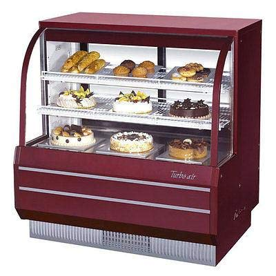 (Turbo Air TCGB-48DR-R-N Curved Glass Bakery Case)