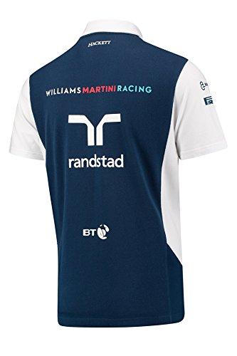 Martini Williams Polo Piqué De nbsp;equipo 2017 Hombres nbsp;racing 1 Fórmula 7p1TSR