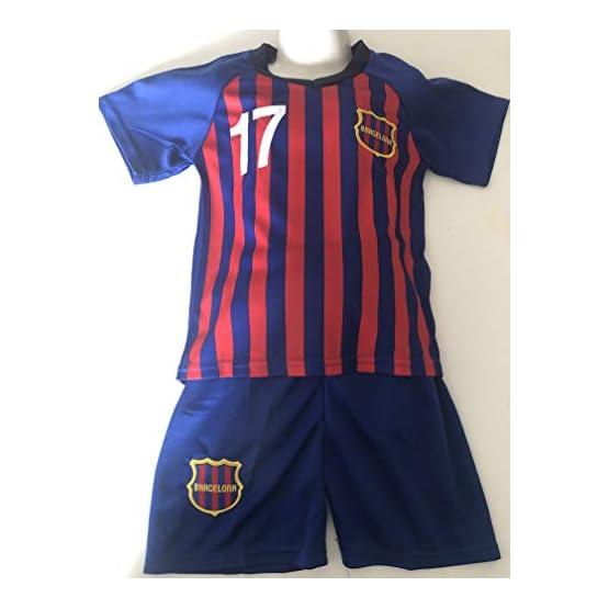 4F sport performance Maillot ET Short Foot Barcelone Flocage Griezmann (8 Ans)