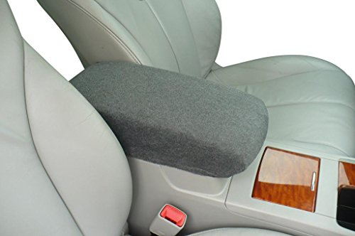 Auto Console Covers- Compatible with The Chevy S-10 1998-2004 Center Console Armrest Cover Fleece - Dark -
